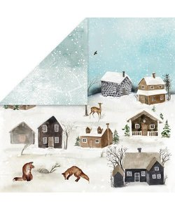 Craft&You Papier Winter Holiday 12x12'' nr. 01
