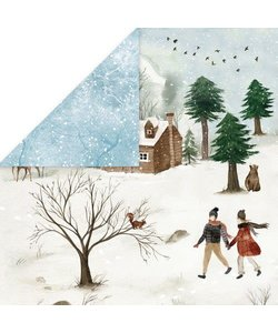 Craft&You Papier Winter Holiday 12x12'' nr. 05