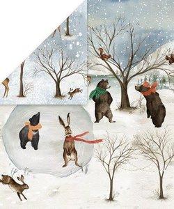 Craft&You Papier Winter Holiday 12x12'' nr. 06