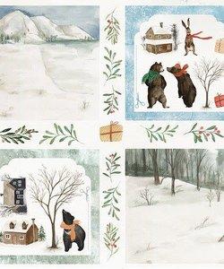 Craft&You Papier Winter Holiday 12x12'' nr. 08