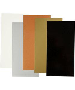 Color Dekor, metallic kleuren 5 diverse vellen