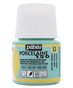 Pebeo Porcelaine 150 Porseleinverf 45ml Water Green nr. 53