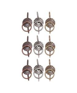 Tim Holtz Idea-Ology Metal Ring Fasteners 9st
