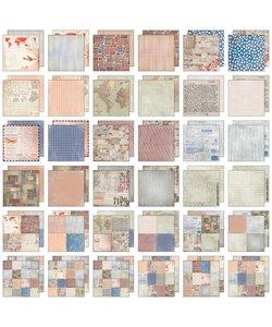 Tim Holtz Idea-Ology Paper Stash 12x12 inch Correspondence 36 pcs.