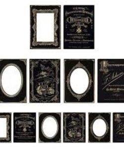 Tim Holtz Idea-Ology Cabinet card frames 6 pcs.