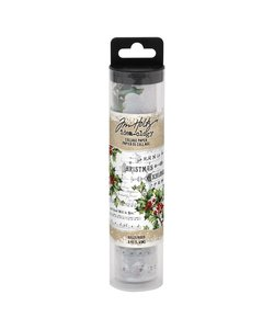 Tim Holtz Idea-Ology Collage paper Holly 6 yards