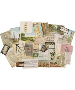 Tim Holtz Idea-Ology Layers Remnants 33 pcs.