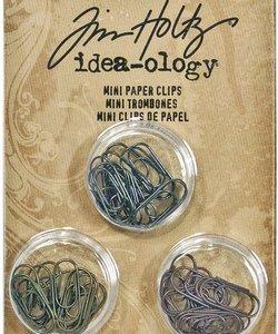 Tim Holtz Idea-Ology Mini Paper Clips 48 pcs.
