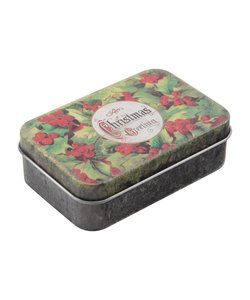 Tim Holtz Idea-Ology Trinket Tins Christmas 2 pcs