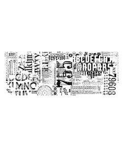 Tim Holtz Idea-Ology Collage paper Typeset 6 yards