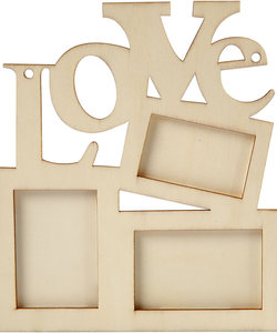 Love fotolijst 19,7x16 cm. triplex 57475
