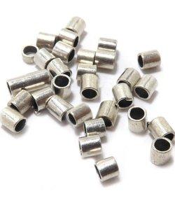 Knijpkraal Tube Zilver 1,5x1,5mm 100 stuks