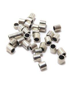 Knijpkraal Tube Zilver 1,5x1,5mm 100st