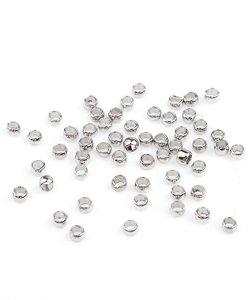 Knijpkraal Rond Zilver 2,5mm 100 stuks