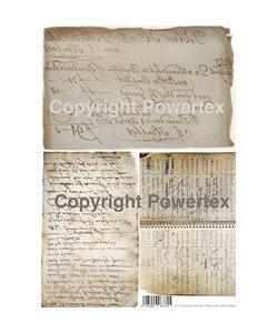Powertex Powerprint paper A3 Grandma's Phone book