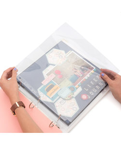 We R Memory Keepers Ring Page Protectors 12x12''