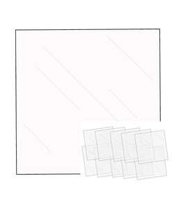 We R Memory Keepers Clear Sheets 30.5x30.5cm 10st