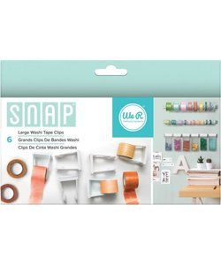 We R Memory Keepers Snap Washi Tape Clips L