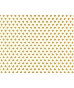 We R Memory Keepers Poster Board Gold Dot