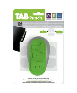 We R Memory Keepers Tab Punch Green