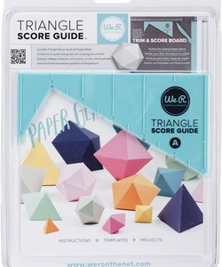 We R Memory Keepers Triangle Score Guide