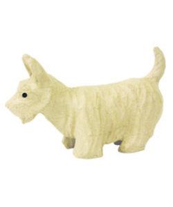 Decopatch Papier mache hond Terrier small 23x8x14,5cm.