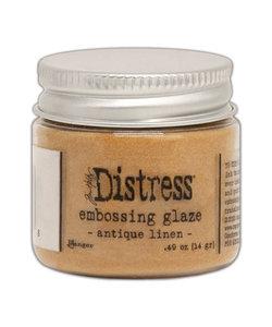 Ranger Distress Embossing Glaze Antique Linen