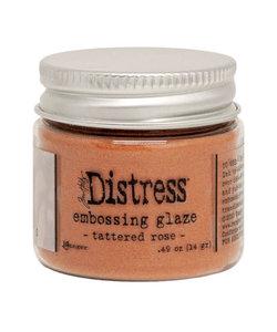 Ranger Distress Embossing Glaze Tattered Rose