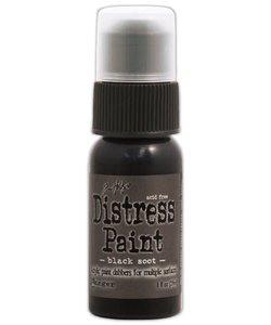Ranger Distress Paint Tim Holtz Black Soot