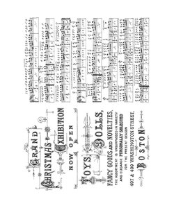 Tim Holtz Cling Stamp Music & Advert