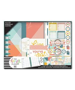 The Happy Planner Classic Box Kit Teacher LET OP DATED Aug 2019-Jul 2020