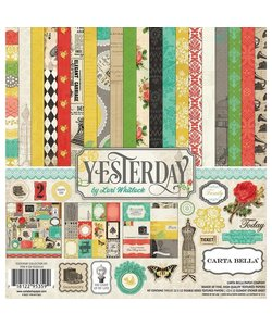 "Carta Bella paperkit ""Yesterday"""