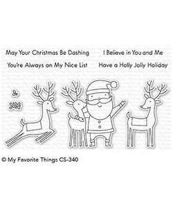My Favorite Things Clear Stamps Santa & Friends