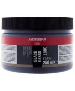 Amsterdam Gesso 250ml Black