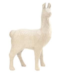 Decopatch Papier Mache Lama Large 34,5x14x52cm.