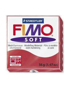 Fimo soft Boetseerklei 57gr. nr.26 Kersenrood