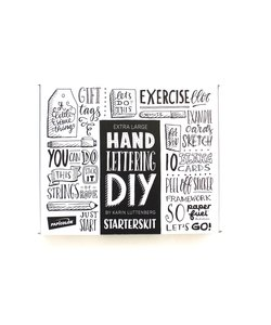 "DIY Handletterbox ""Starterskit"" Paperfuel (KADOTIP)"