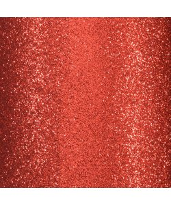 Glitterpapier zelfklevend 30.5x30.5 Rood