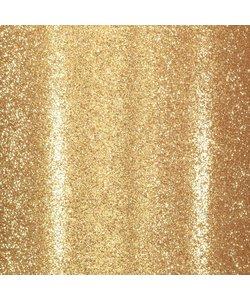Glitterpapier zelfklevend 30.5x30.5 Goud
