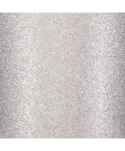 Glitterpapier zelfklevend 30.5x30.5 Zilver