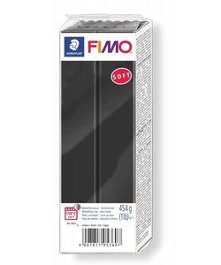 Fimo Soft Boetseerklei 454g nr. 9 Zwart