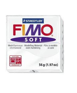 Fimo Soft Boetseerklei 57g nr. 0 Wit
