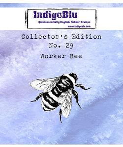 IndigoBlu rbbr stamp Collector's No. 29 Worker Bee