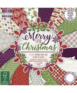 Merry Little Christmas 6 x 6