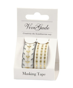Vivi Gade Washi tape Bright Coll., 2 p,