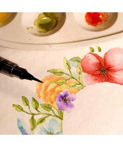 Florence Aquarel Papier Texture A4 300g Off White1st