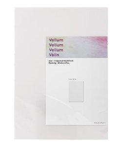 Vellum White A4 5st