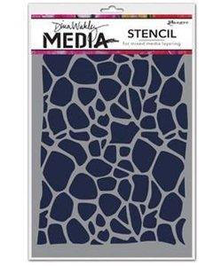 Ranger Dina Wakley Media Stencil Cellular