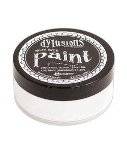 Ranger Dylusions Paint White Linen 59ml