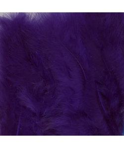 Veren Marabou Paars 8,5-12,5cm 15st